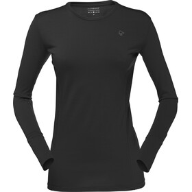 Norrøna Wool Round Neck Top Women, caviar